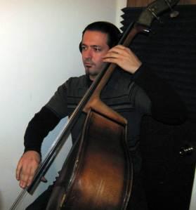 Ariel de la Portilla on upright bass