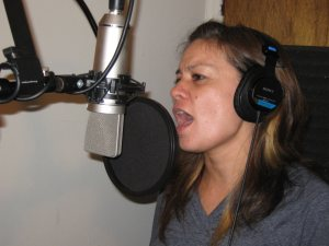 Gwen Mann on vocal tracks