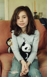 Thad's daughter, Shay, at home in NYC